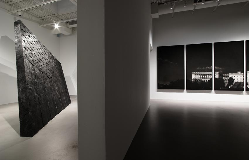 Robert Longo <i>Strike The Sun</i> Installation view 7 2014