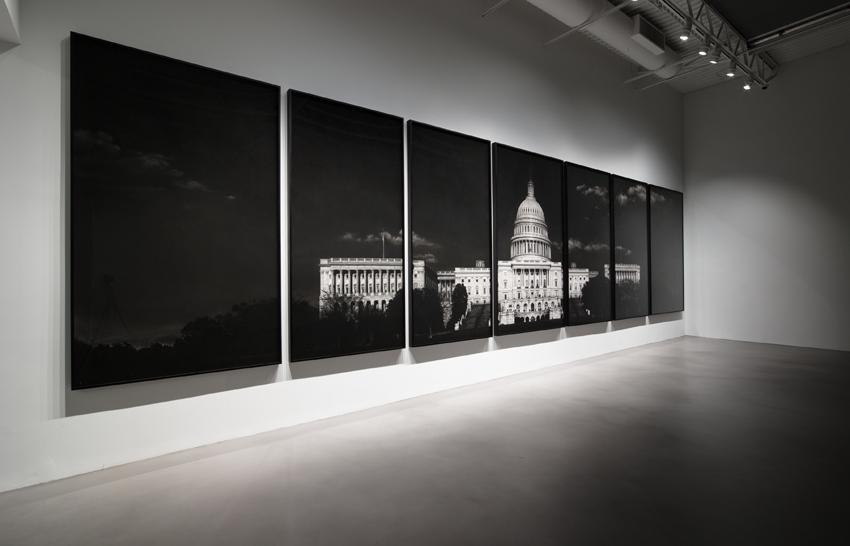Robert Longo <i>Strike The Sun</i> Installation view 9 2014