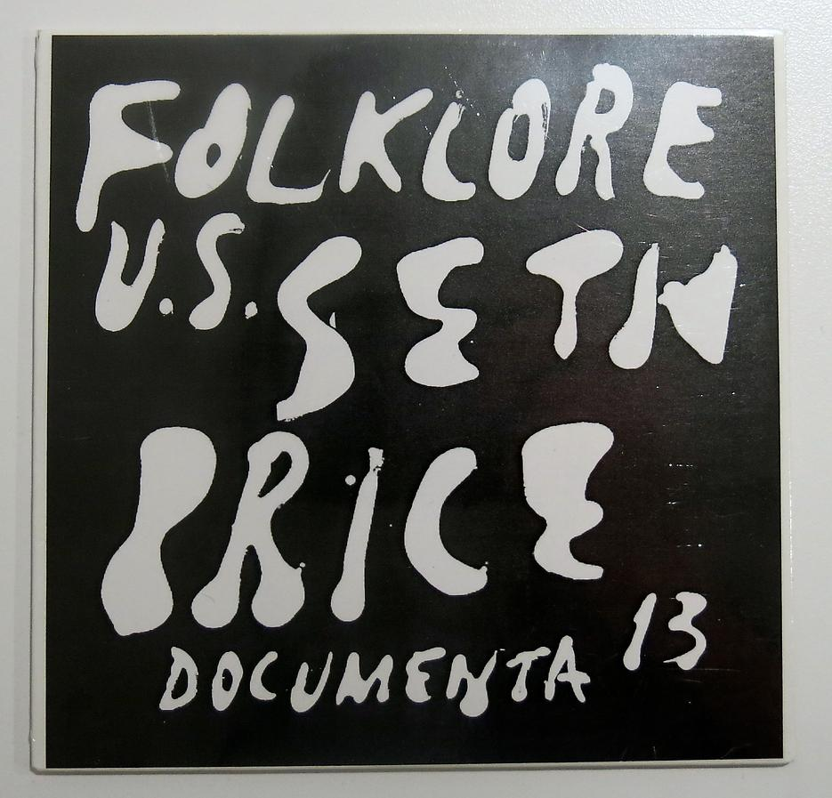 Seth Price <i>Folklore U.S.</i> dOCUMENTA 13 CD For Sale $10.00