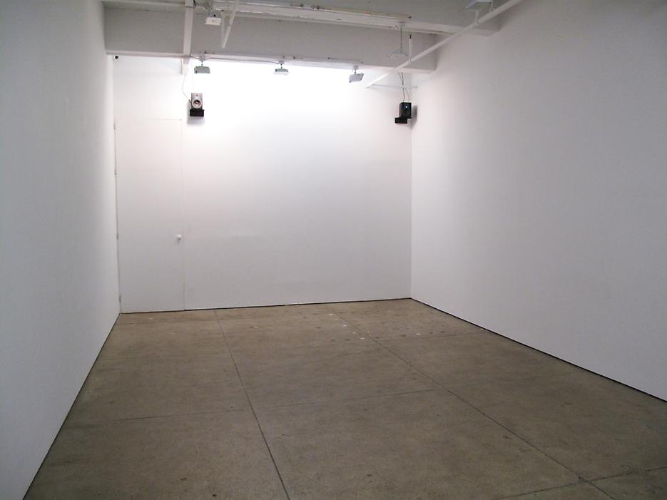 Installation view <i>The Audio Show</i> Friedrich Petzel Gallery 2009