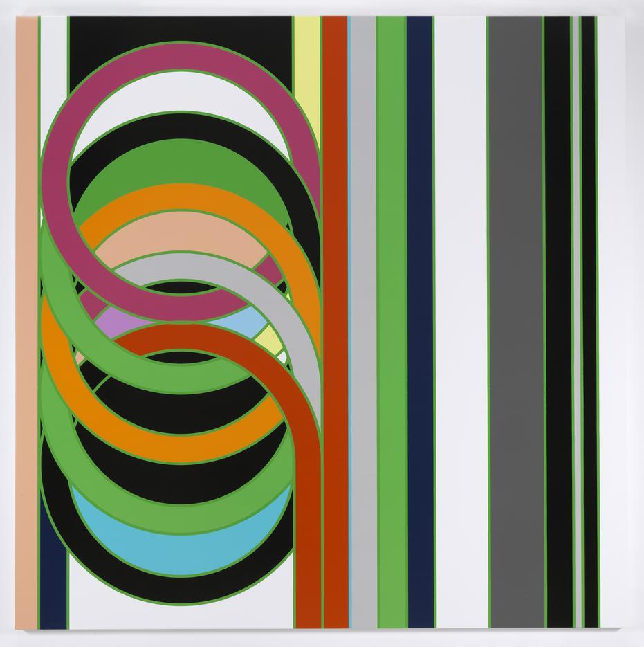 Sarah Morris Painting Alpine Coil Knots 2009