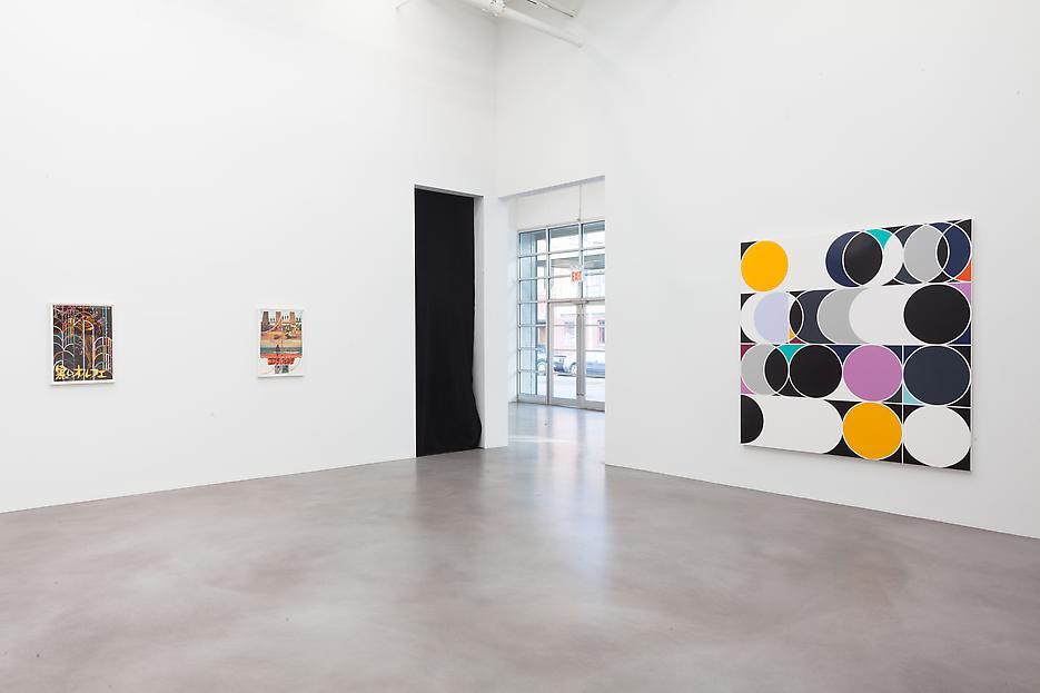Sarah Morris <i>Academia Militar</i> Installation view 10 2013