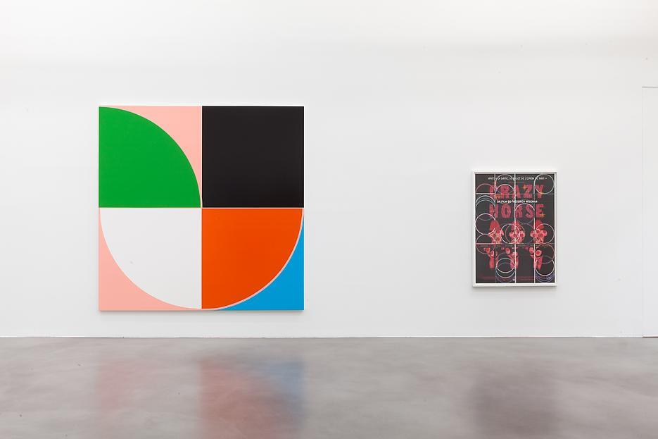 Sarah Morris <i>Academia Militar</i> Installation view 16 2013