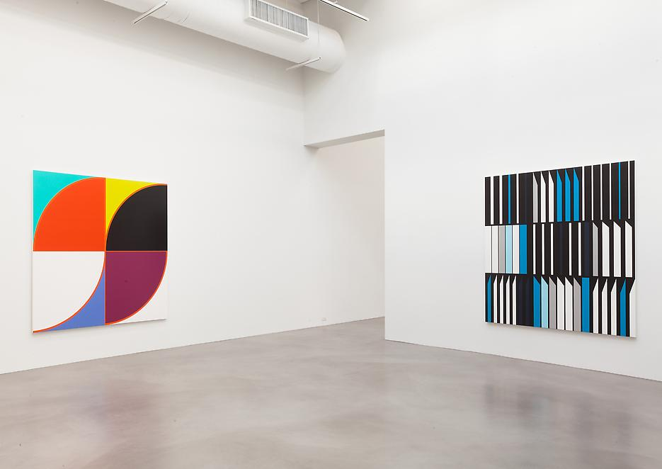 Sarah Morris <i>Academia Militar</i> Installation view 7 2013