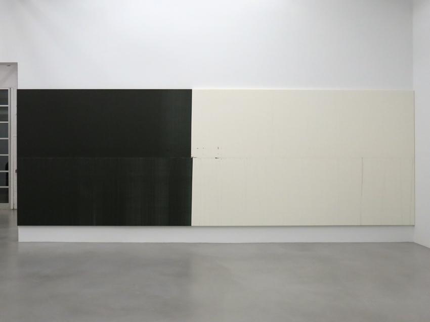 Wade Guyton Installation view 3 Friedrich Petzel Gallery