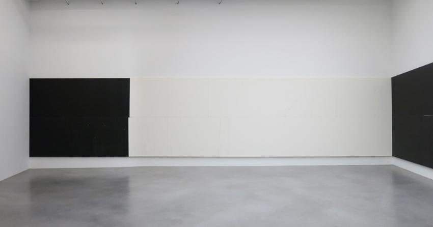 Wade Guyton Installation view 6 Friedrich Petzel Gallery