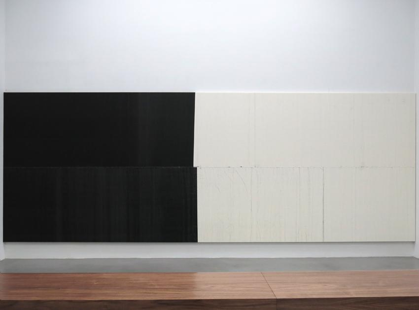 Wade Guyton Installation view 2 Friedrich Petzel Gallery