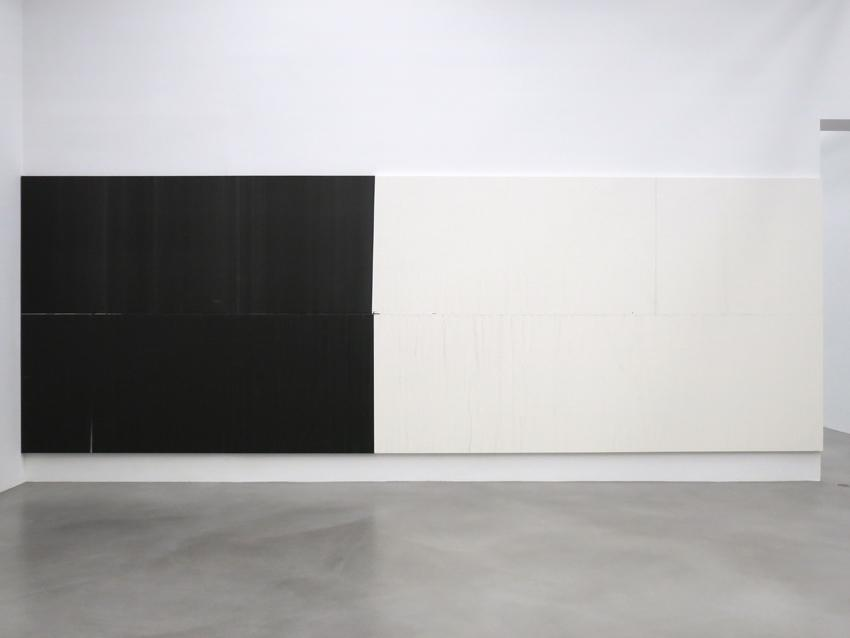 Wade Guyton Installation view 4 Friedrich Petzel Gallery