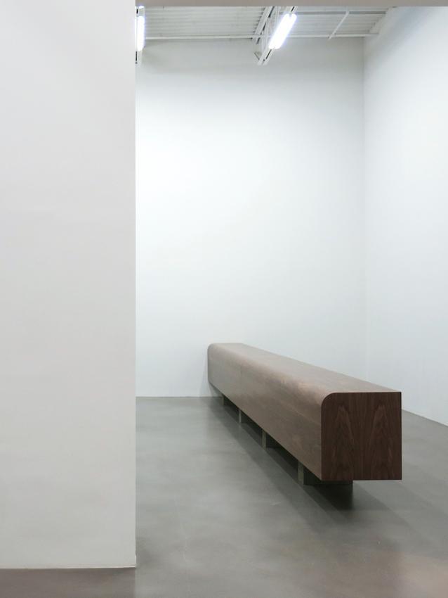 Wade Guyton Installation view 1 Friedrich Petzel Gallery