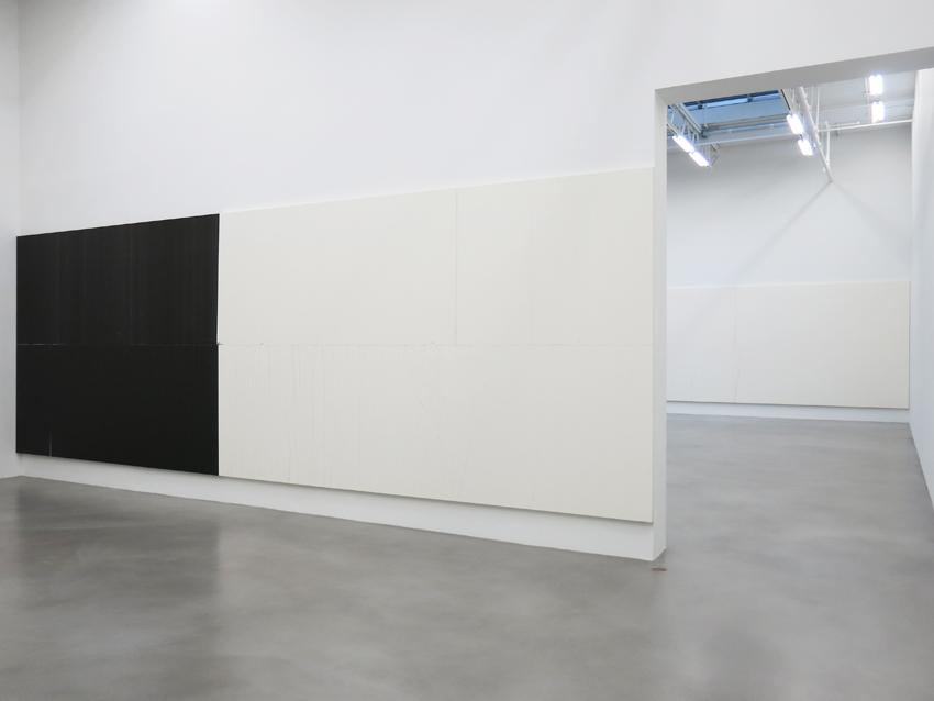 Wade Guyton Installation view 5 Friedrich Petzel Gallery