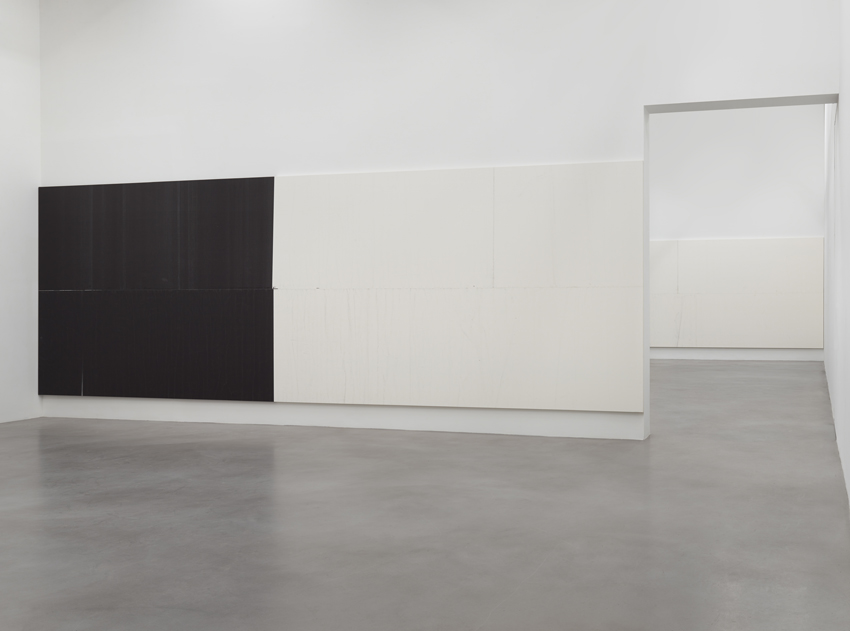 Wade Guyton Installation view 9 2014
