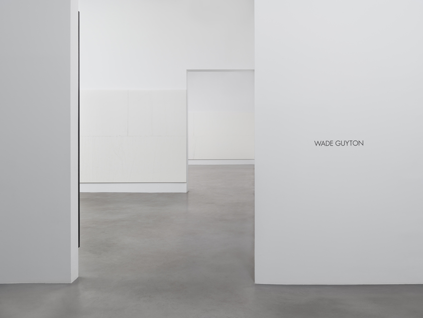 Wade Guyton Installation view 8 2014
