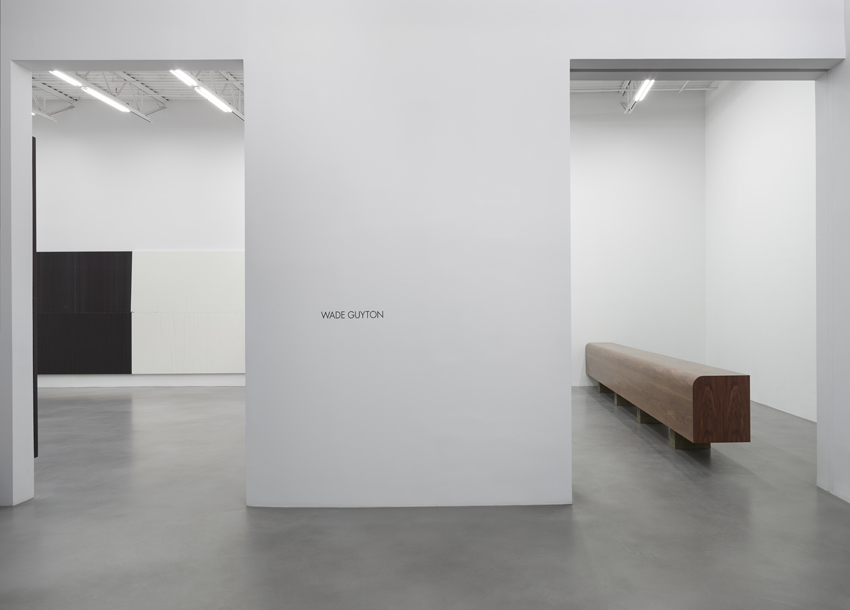 Wade Guyton Installation view 1 2014