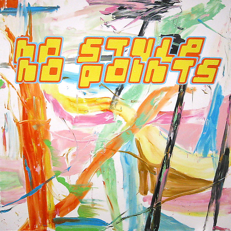 No Style No Points 2002 acrylic on canvas 118.11 x 118.11 inches/300 x 300 cm