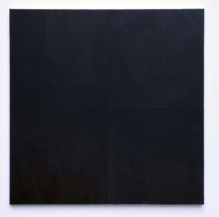 <i>Untitled</i> 2007 Acrylic on canvas 39.37 x 39.37 inches
