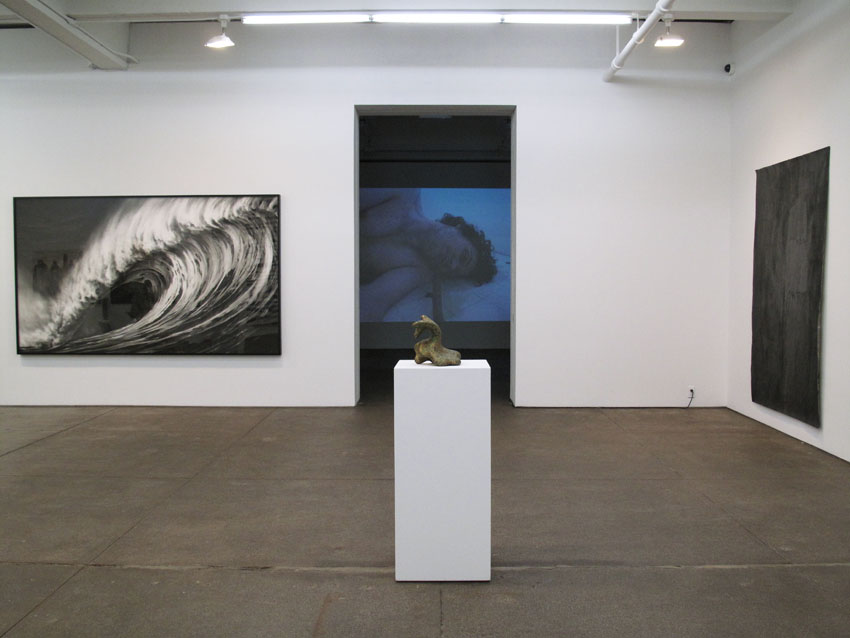 <i>Swell, Art 1950 – 2010</i> Installation view Friedrich Petzel Gallery 2010