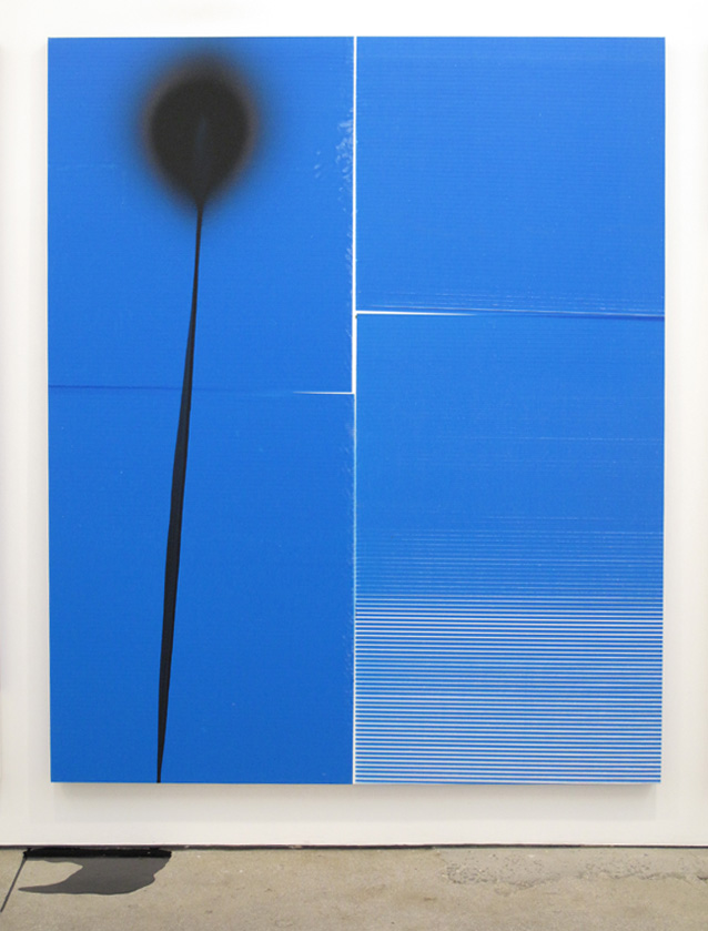 Wade Guyton <i>Untitled 2010</i> Stephen Prina <i>PUSH COMES TO LOVE, Untitled, 1999-2010</i>