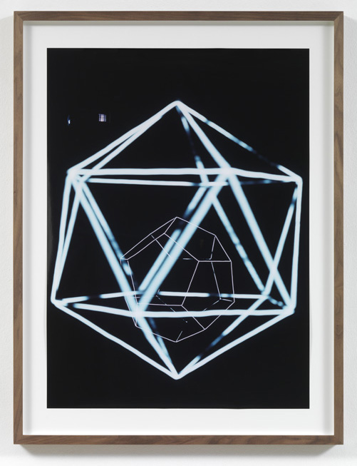 Jorge Pardo <i>Untitled #1 Angela Bulloch</i> 2008 Laser print on paper 77,4 x 56,2 cm