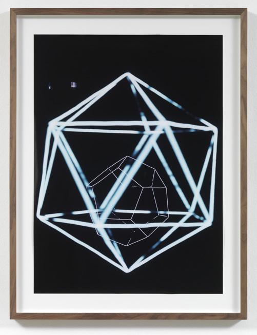 Jorge Pardo <i>Untitled #1 Angela Bulloch</i> 2008 Laser print on paper 77,4 x 56,2 cm