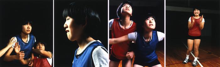 <i>Yuka Koishihara & Eri Kobayashi, Yuka Ishigami, Chinatsu Narui & Hitomi Shibazaki, Kumiko Shirai</i> 1997 Set of 4 C-prints