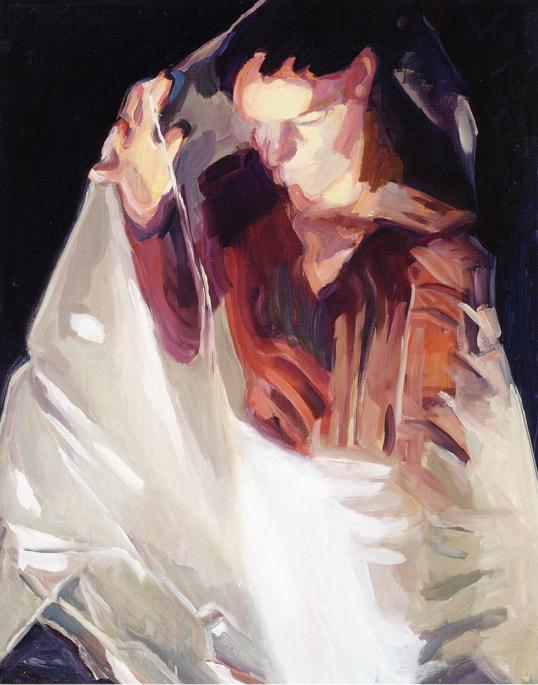 <i>Spell</i> 2006 Oil on canvas 49.21 x 39.37  inches