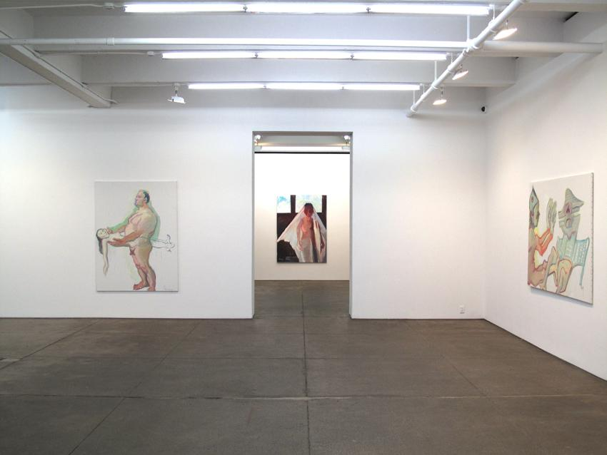 Installation view Friedrich Petzel Gallery 2010