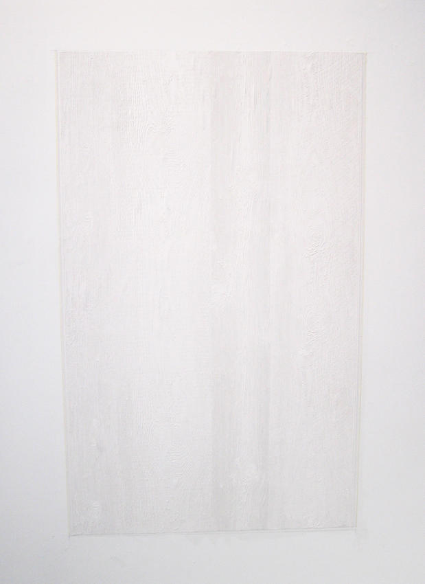Cheyney Thompson: Untitled 2007 paper 38 x 62.25 inches/96.52 x 155.58 cm