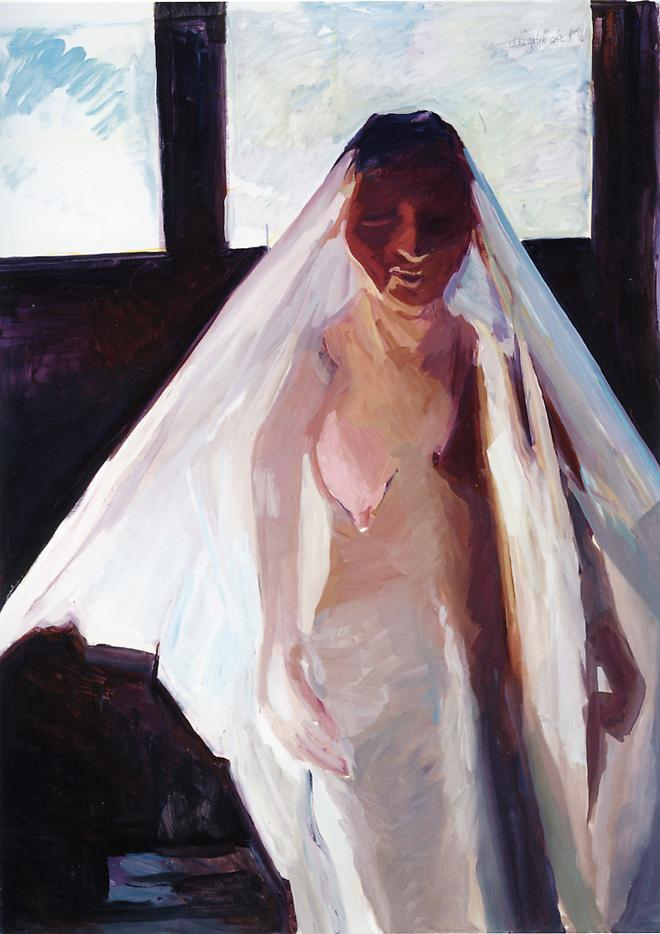 The Illegitimate Bride 2007 oil on canvas 78.74 x 59.06  inches