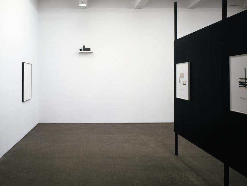 Installation <i>The Question is a Compliment</i> Friedrich Petzel Gallery 2008