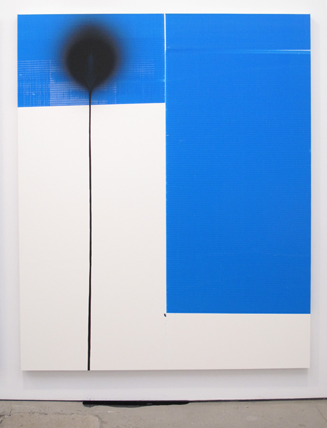 Wade Guyton Untitled 2010 Stephen Prina PUSH COMES TO LOVE, Untitled, 1999-2010