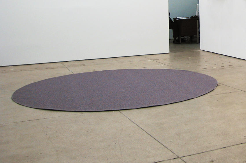 Untitled 2007 carpet diameter 10 feet