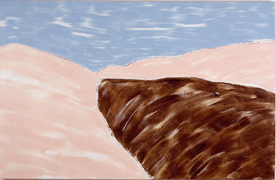 View #2 1999 acrylic on canvas 60 x 92 inches/152.4 x 233.7 cm