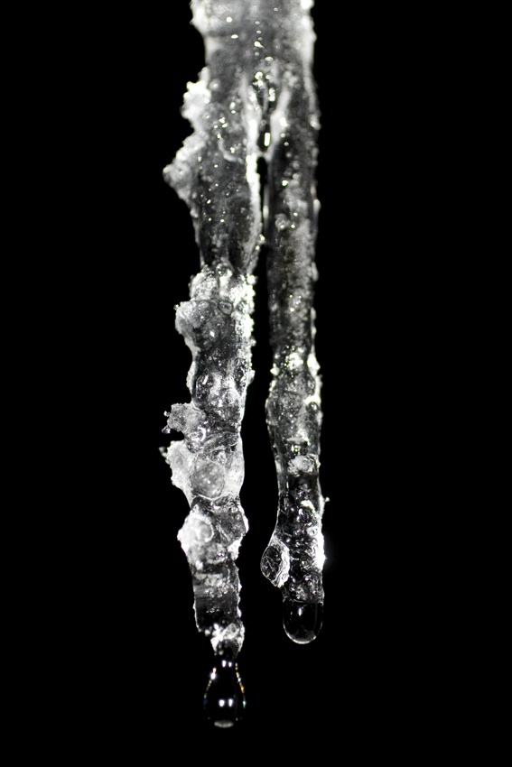 Freeze - Icicles  2008 archival inkjet 27.75 x 19.75 inches edition of 5