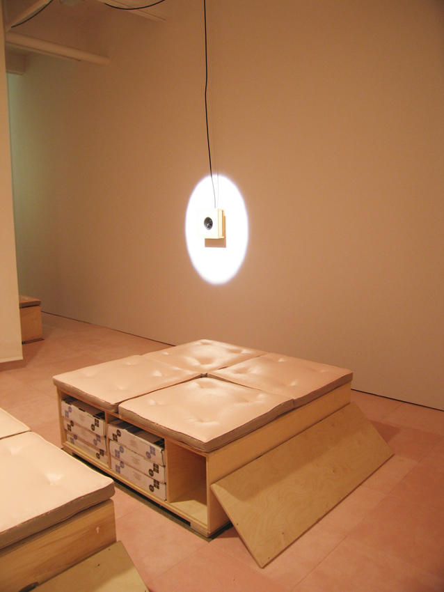 The Second Sentence of Everything I Read Is You Friedrich Petzel Gallery Installation 2006