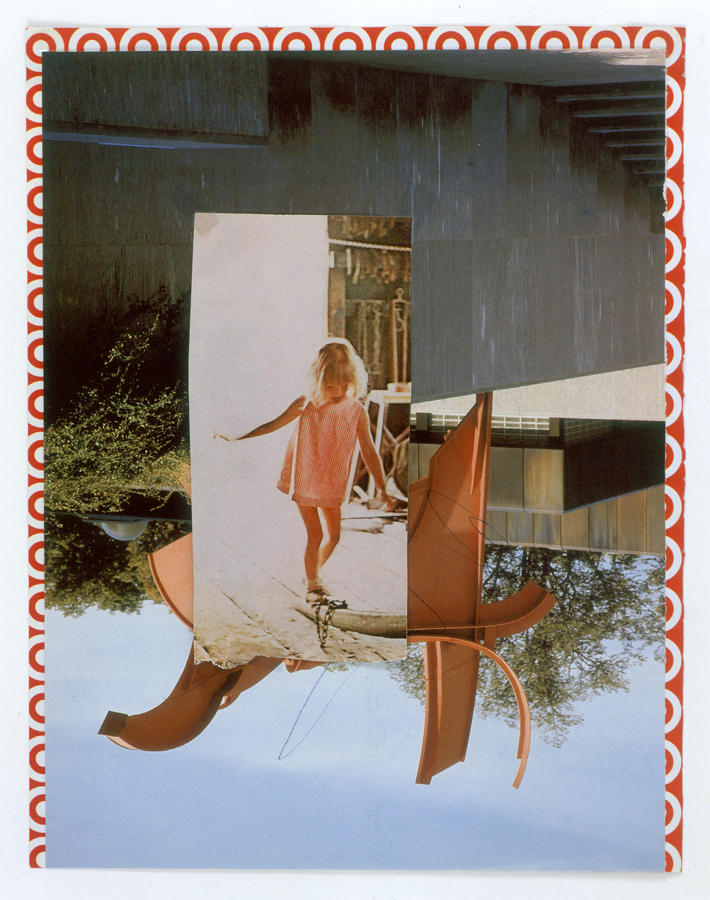Untitled 2004 collage 11.75 x 9.125 inches/29.8 x 23.2 cm