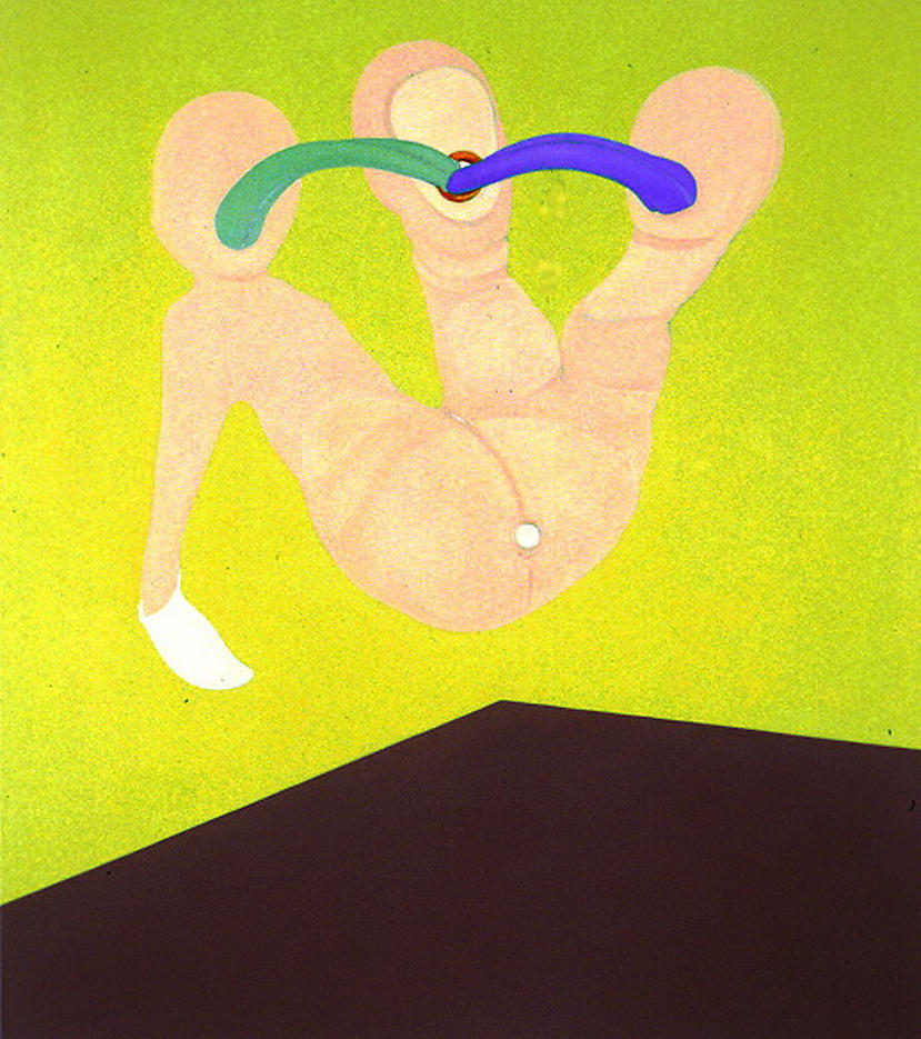 Song 1995 oil on linen 56 x 50 inches/142.2 x 127 cm