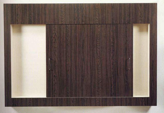 Richard Artschwager: Sliding Door 11 1967 formica on wood with metal handles 56.5 x 84 x 7 inches/143.5 x 213.4 x 17.8 cm