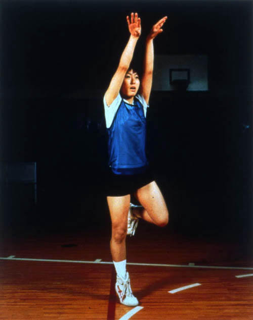 <i>Goshogaoka Girls Basketball Team: Ayako Sano</i> 1997 C-print Framed: 45 x 38 inches
