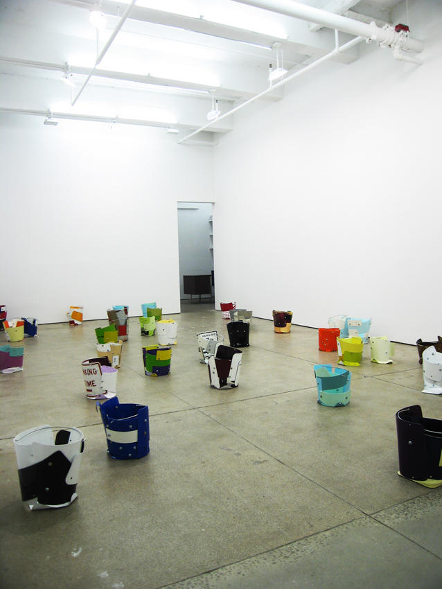 Chris Hanson and Hendrika Sonnenberg Friedrich Petzel Gallery Installation 2008