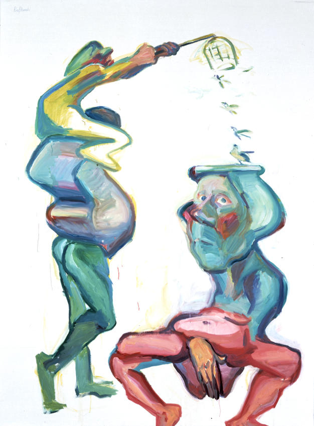 Profitanskis 2001 oil on canvas 79.92 x 59.06 inches/203 x 150 cm