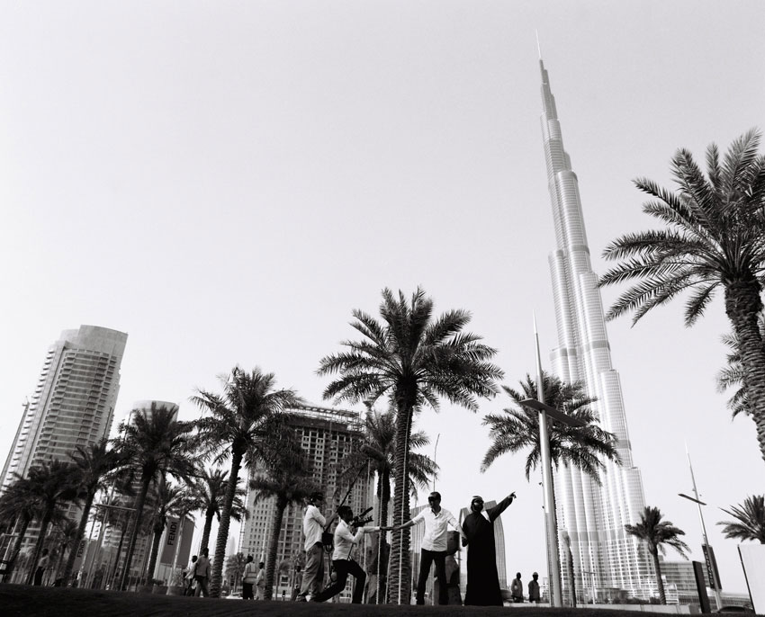 <i>The Eye of Dubai</i> 2012 Video and Archival inkjet print  48.5 x 48.5 inches; 123.2 x 123.2 cm