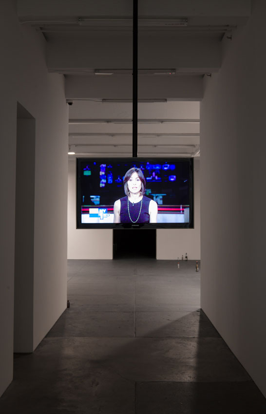 <i>Discourse News</i> 2012 Installation View