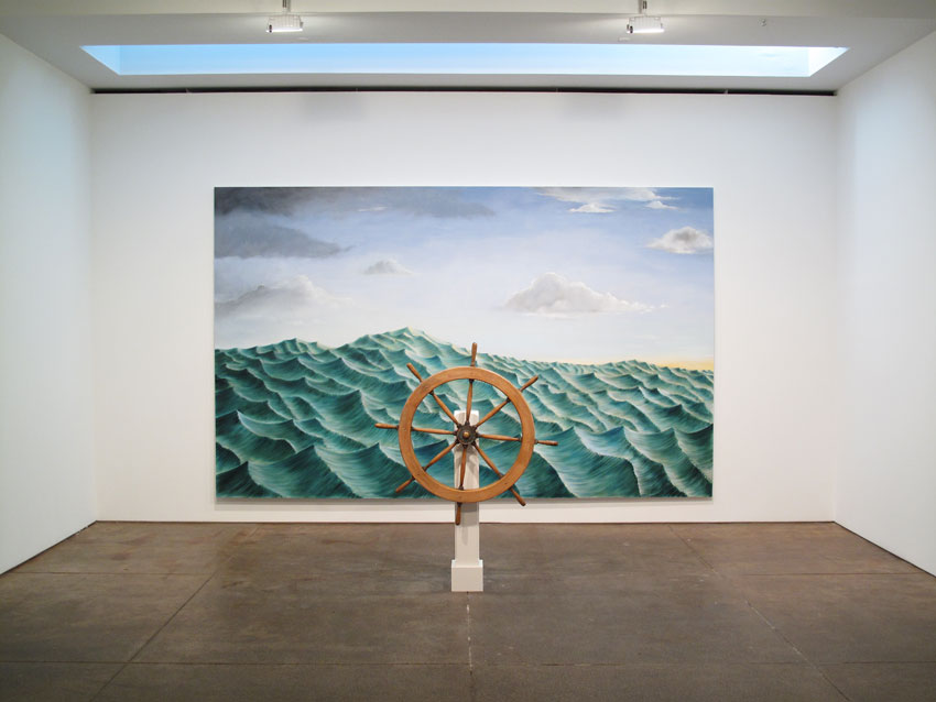 Installation view <i>Around the World Alone</i> Friedrich Petzel Gallery 2011