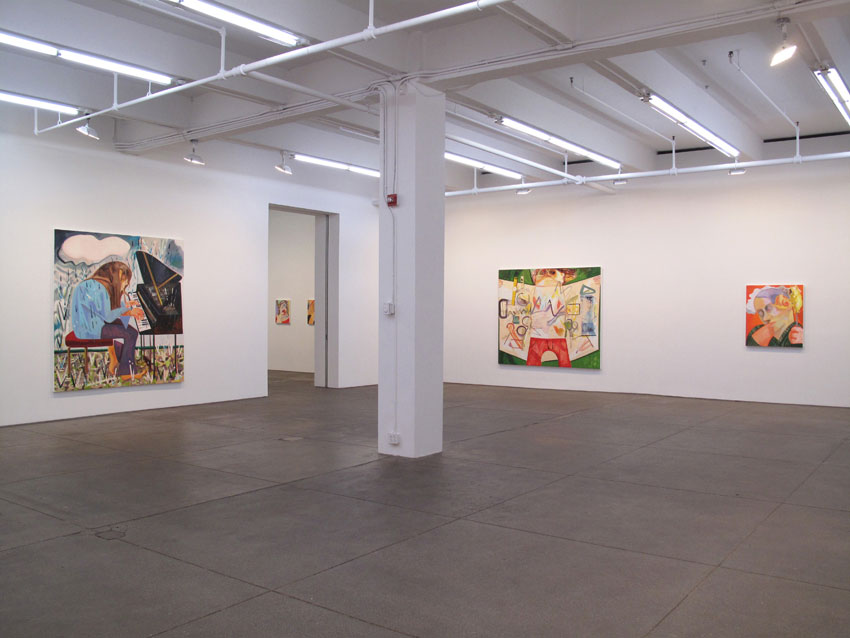 Installation view Friedrich Petzel Gallery  2012