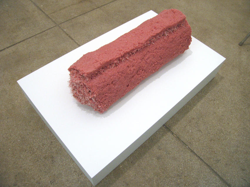 Sod 2008 polyurethane, Ed. of 3 8 x 22 x 8 inches/20.3 x 55.9 x 20.3 cm