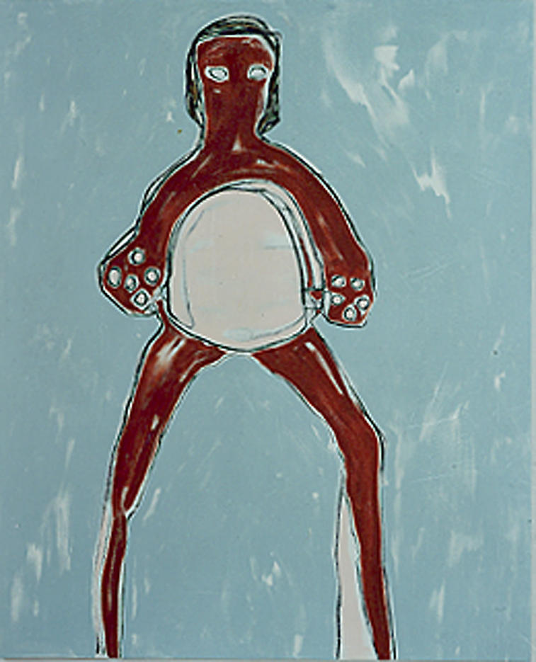 Fig. 1 1999 acrylic on canvas 72 x 58.25 inches/182.9 x 148 cm