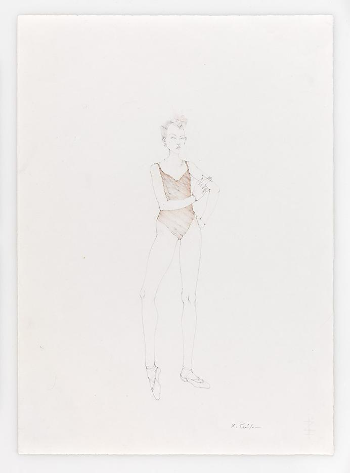 Smoky Dancer 2010 Pencil on paper 20.87 x 14.96 inches