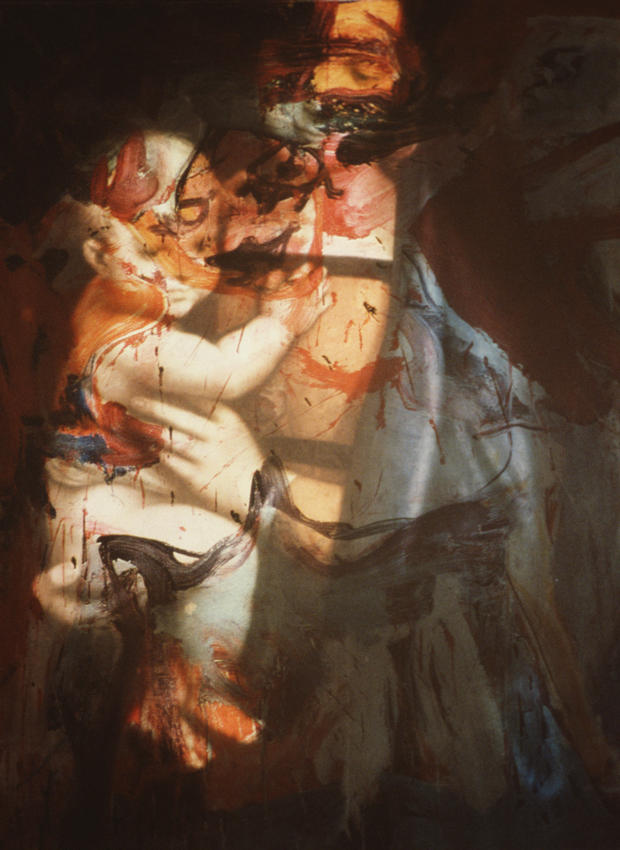Untitled (de Kooning/Raphael) #1 1984/2005 digital c-print, ed. of 5 framed: 41 x 31 inches/104.1 x 78.7 cm