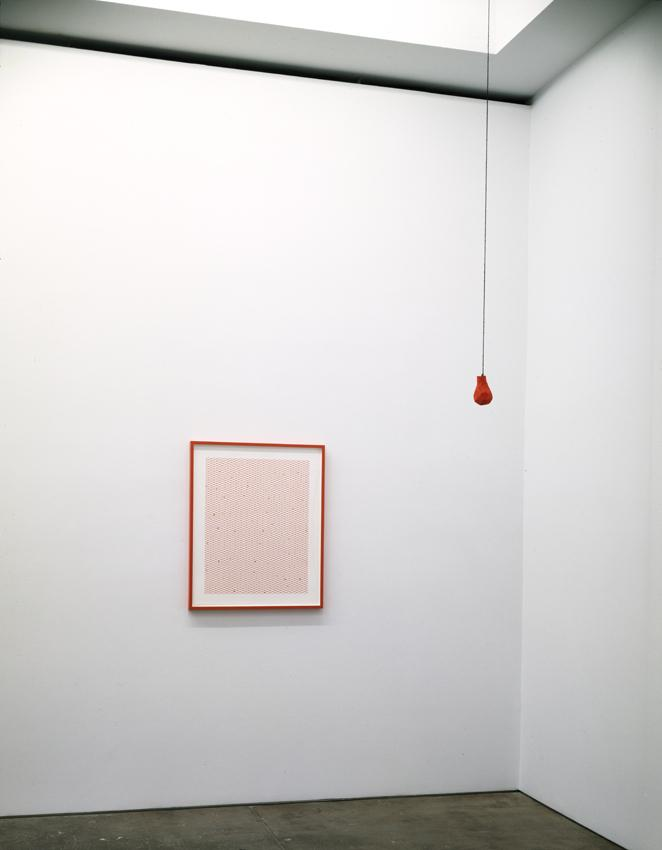 <i>The Question is a Compliment</i> Installation view Friedrich Petzel Gallery 2008