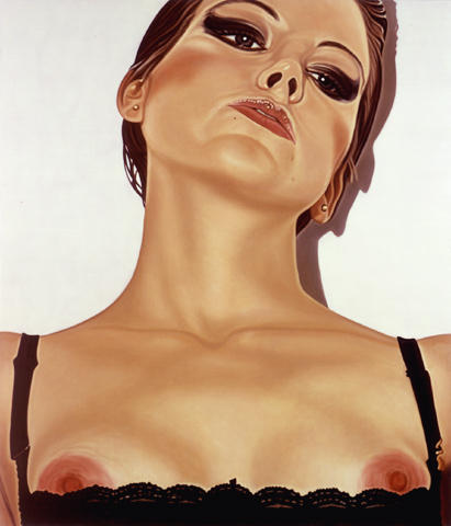 Artist 2001							 oil on linen 102 x 87 inches/259.1 x 221 cm